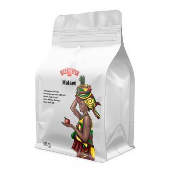 Свежеобжаренный кофе в зёрнах арабика 100% Малави 200 грамм