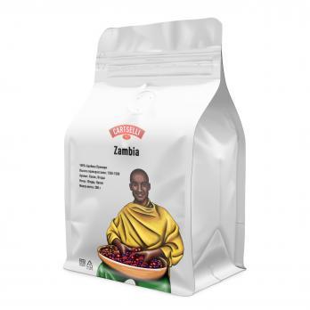 Свежеобжаренный кофе в зёрнах арабика 100% Замбия 200 грамм